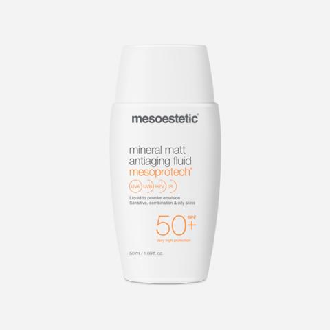 mesoprotech mineral matt antiaging fluid 50+