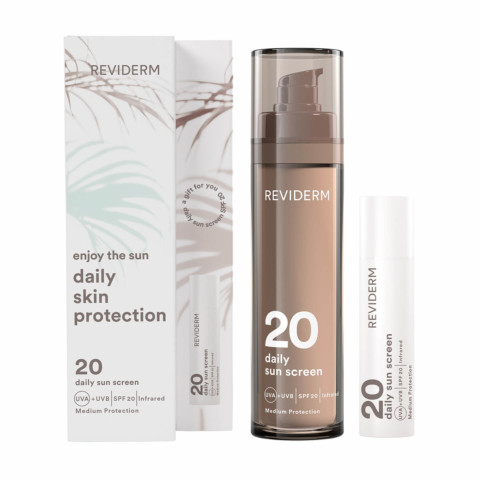 Daily skin protection set